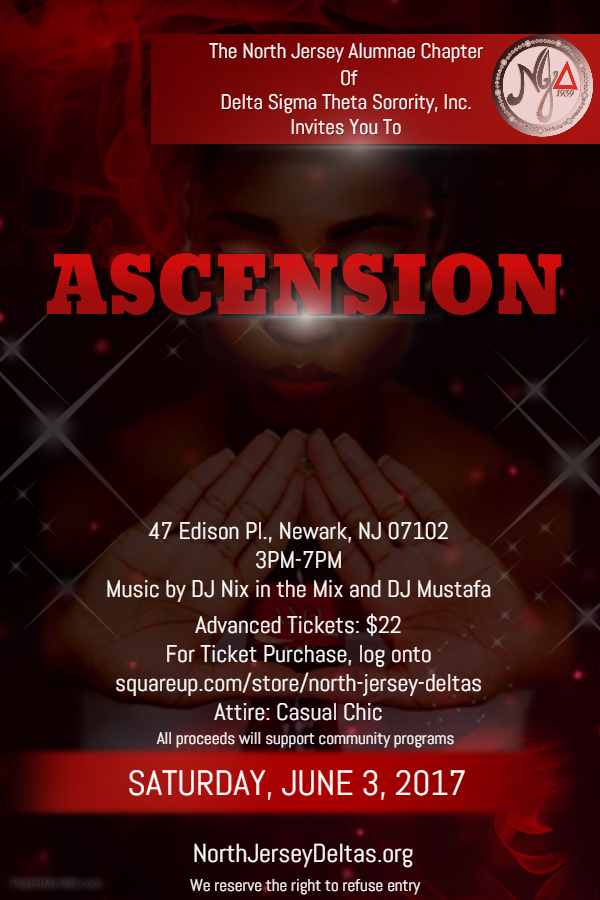 ASCENSION Day Party Flyer Design
