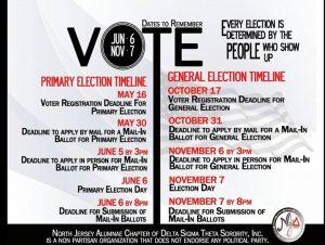 VOTE 2017 CARD