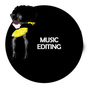 Music Editing Circle Template